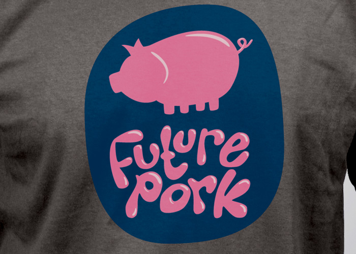 Future Pork Tee Detail