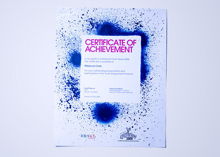 Interact Certificate 2